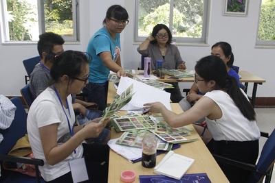 学员设计自然体验课程